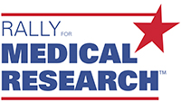 Rally for Medical Research logo